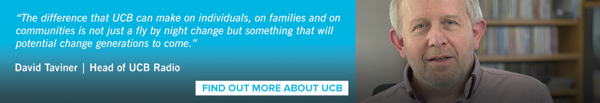 """The difference that UCB can make on individuals, on families and on communities is not just a fly by night change but something that will  potential change generations to come."""