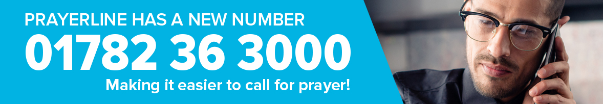 prayerline new number 01782 36 3000