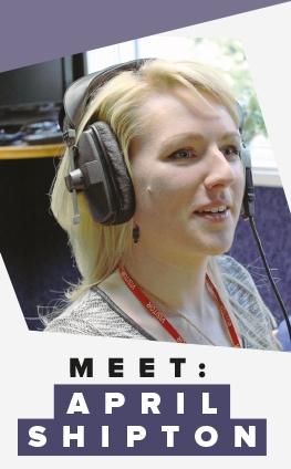 Meet: April Shipton
