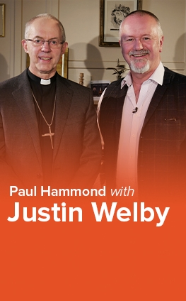 Paul Hammond with Justin Welby