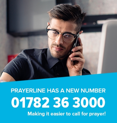 Prayerline New Number 01783 36 3000