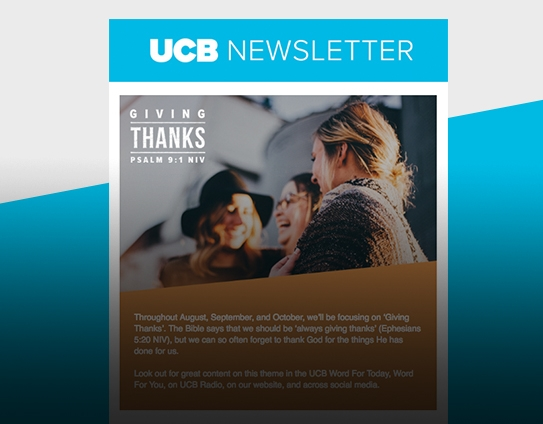UCB Newsletter