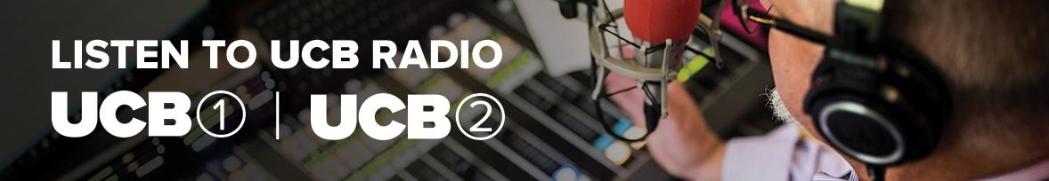 LISTEN TO UCB RADIO