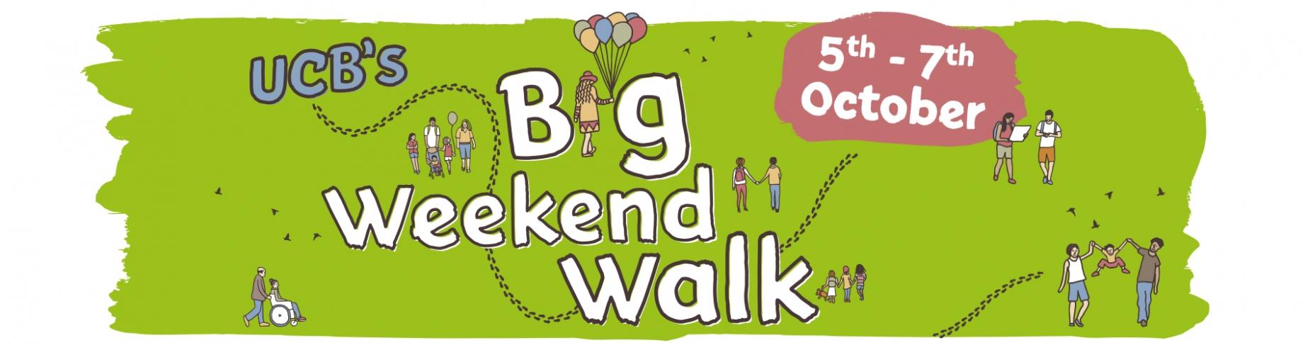 UCB's Big Weekend Walk