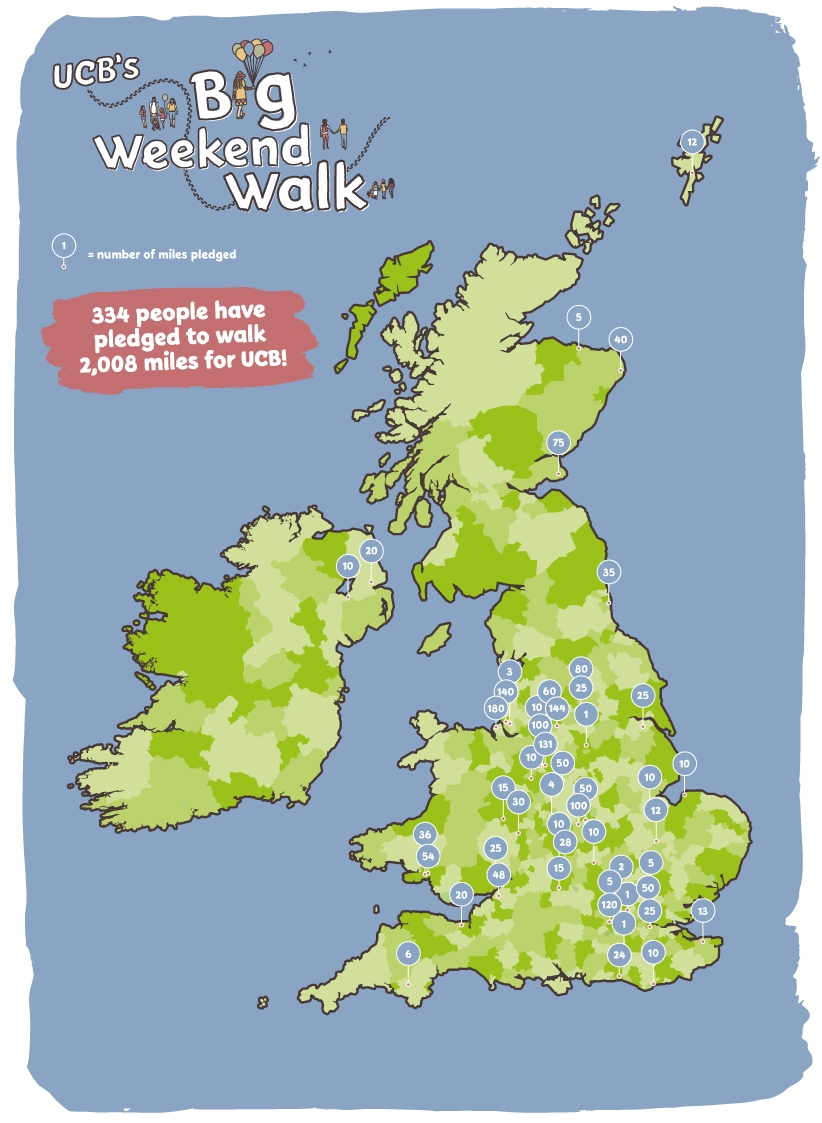 Big Weekend Walk Map