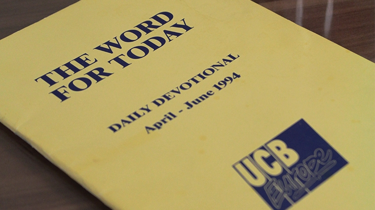 limited edition, commemorative 1st edition of Word For Today